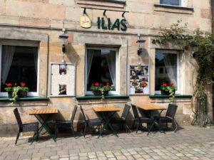 Außenansicht Restaurant Ilias